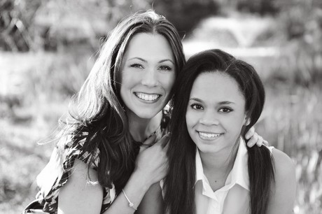 atlanta mother daughter custom glamour picture